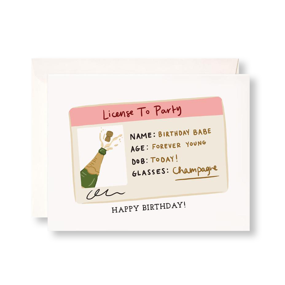 Birthday License