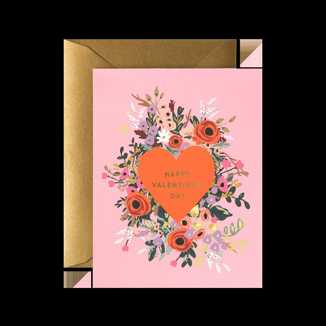 Blooming Heart Valentine