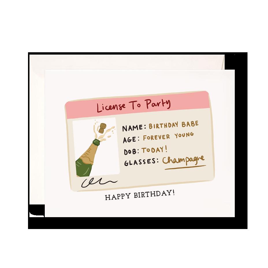 Birthday License