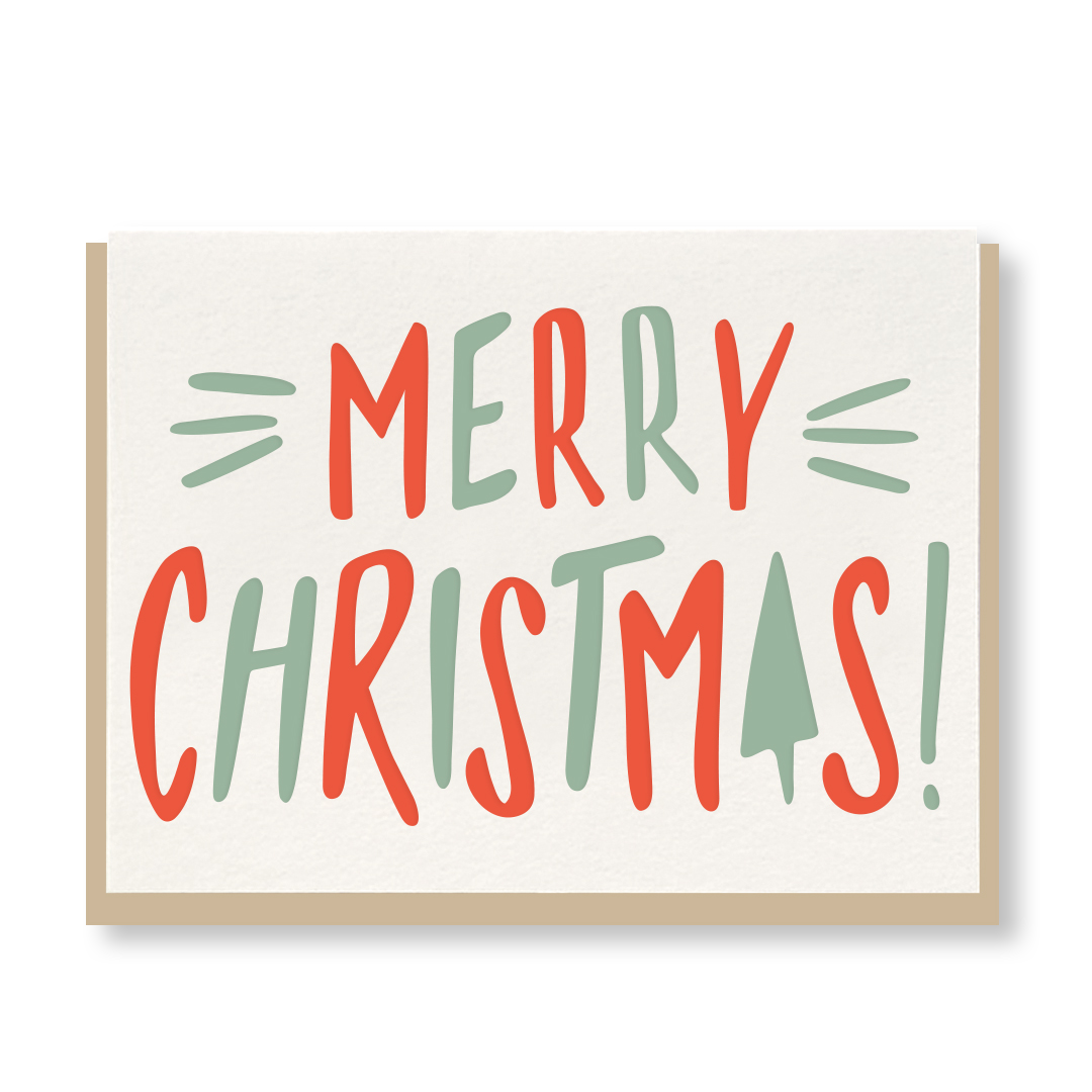 Merry Christmas Bold