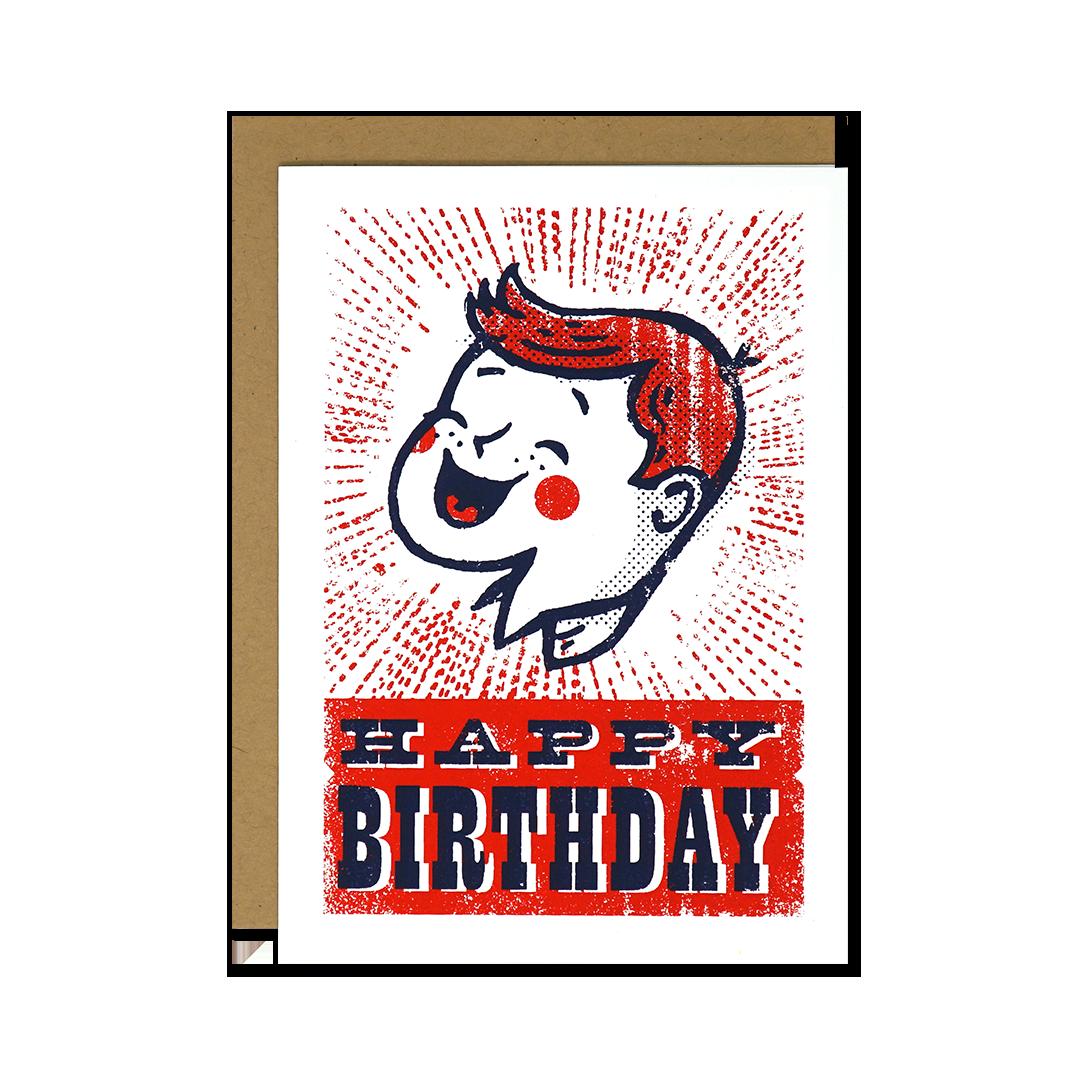 Vintage Birthday Boy