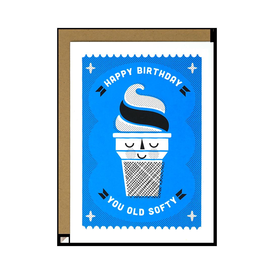Vintage Soft Serve Birthday