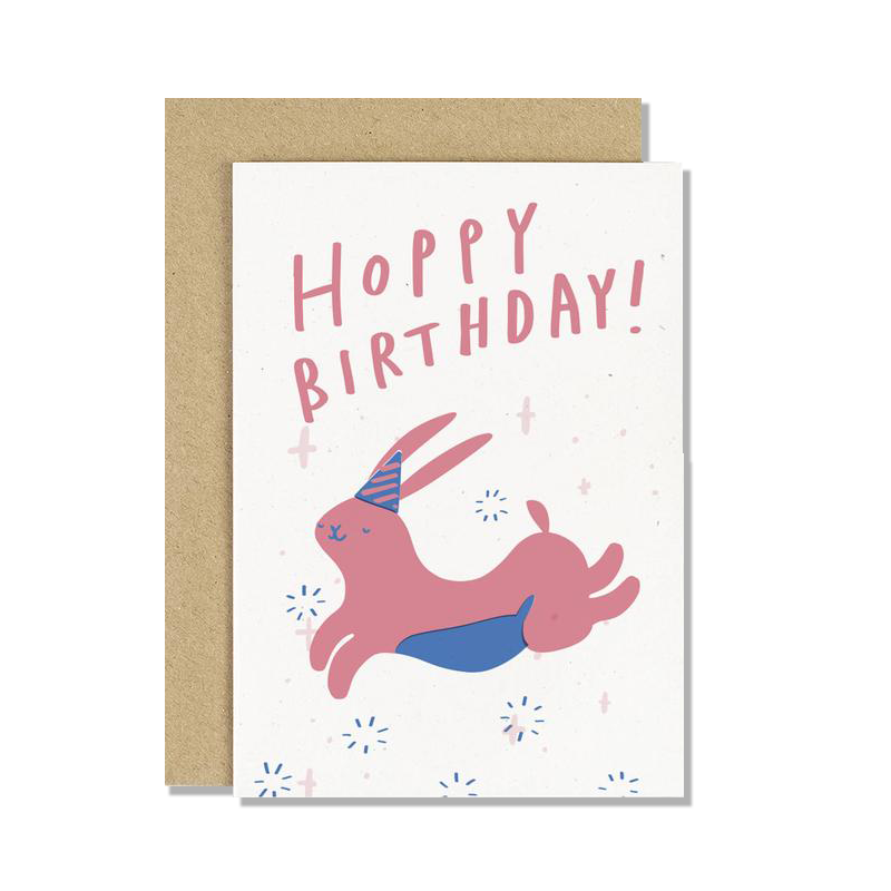 Hoppy Birthday Bunny