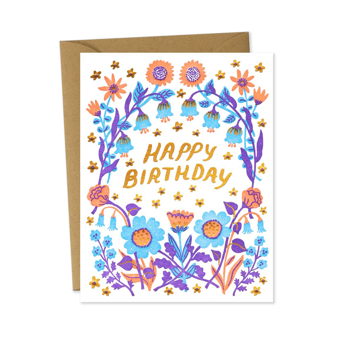 Birthday Wildflowers