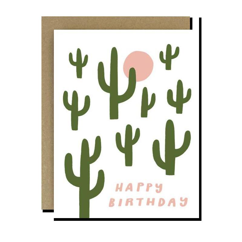 Cactus Birthday
