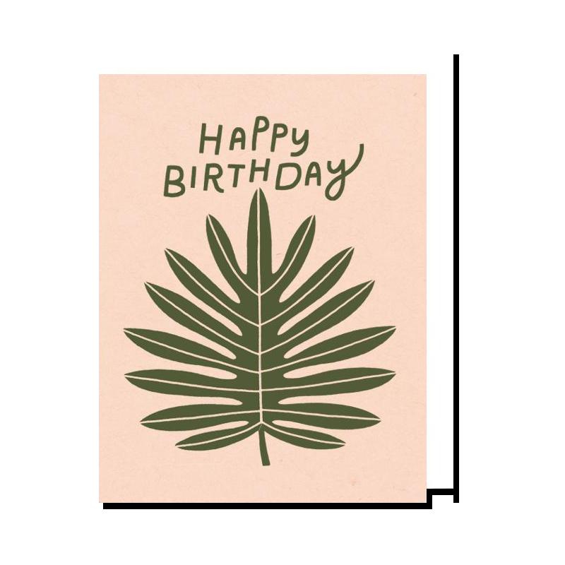 Birthday Leaf