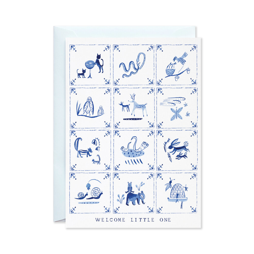 New Baby Delft Tiles